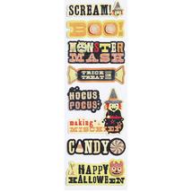 Martha Stewart Friendly Layered Phrases-Halloween-NIP - $5.00