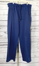 Starter Basketball Navy Blue Athletic Warm-Up Workout Pants Size: XL
