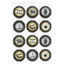 Martha Stewart Witch Circle Stickers-NIP - $7.00