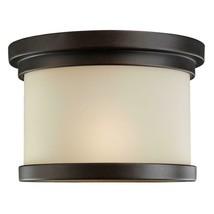 Sea Gull Lighting Winnetka 1-Light Outdoor Misted Bronze Pendant - $14.84
