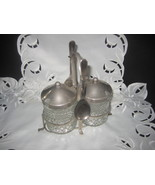 Silver Condiment Set Sheffield England - $35.00