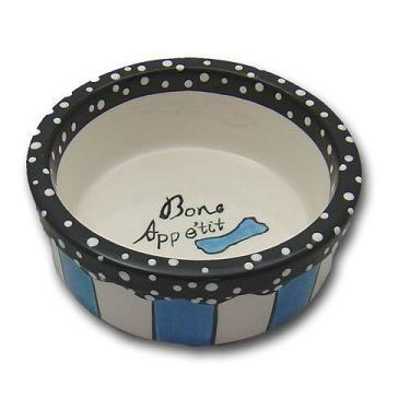 Primary image for CHARMING PET Designer Dog or Cat Bistro Bowl Sky Blue