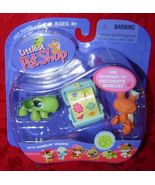 Littlest Pet Shop Turtle & Crab #187 #188 LPS - $10.00