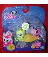 Littlest Pet Shop Caterpillar & Butterfly #1323 #1324 LPS - $10.00