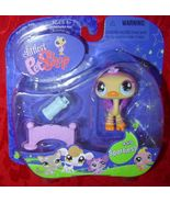 Littlest Pet Shop Ostrich #516 Sportiest LPS - $8.00