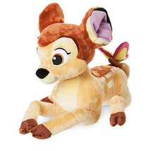 Disney Store Bambi Medium Plush New With Tags - $26.42