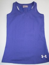 29b608a9 Under Armour Youth Athletic Shirt Fitted Heat Gear YMD Color Purple NWOT -  $5.22