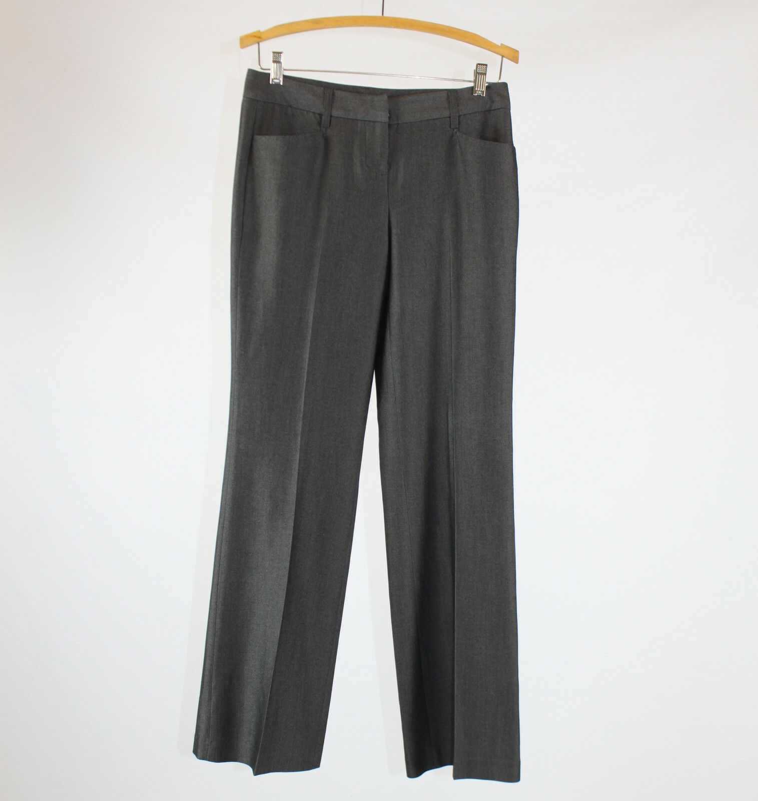 Gray stretch EXPRESS mid-rise dress pants 2