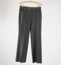 Gray stretch EXPRESS mid-rise dress pants 2 - $9.99