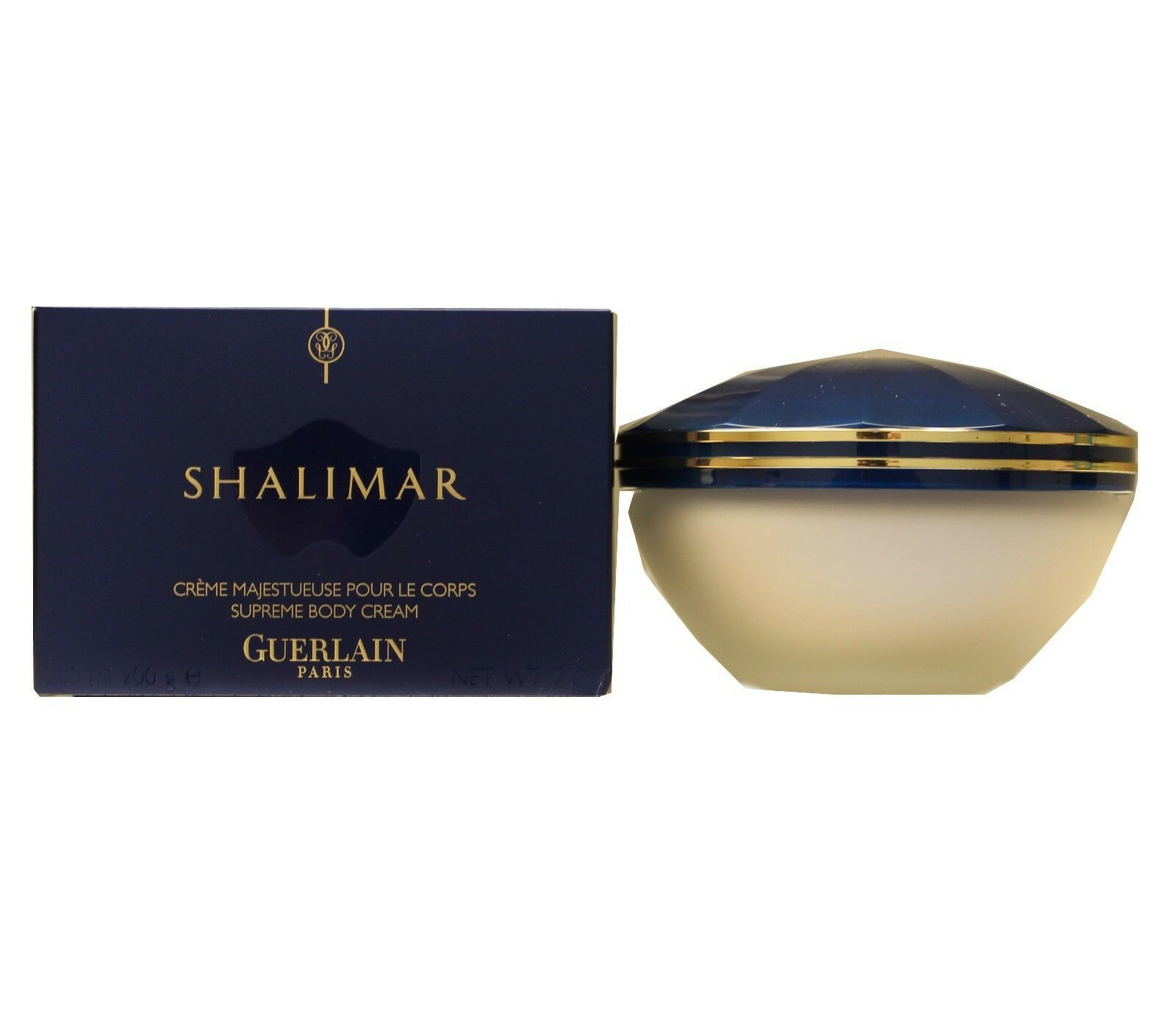 GUERLAIN SHALIMAR SUPREME BODY CREAM 200 ML/7 OZ. NIB