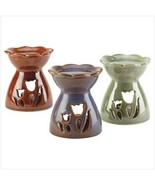 Oil warmers trio in Artistic tulip flower shapes - $5.35