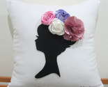 Dreaming of spring cushion white front thumb155 crop