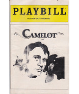 Rare Vintage Playbill - Camelot at Golden Gate ... - $5.00