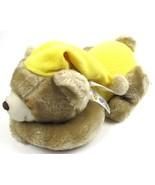 Ken Tex Teddy Bear with Yellow PJs & Cap with Ribbon Stuffed All Plush 1... - $9.89