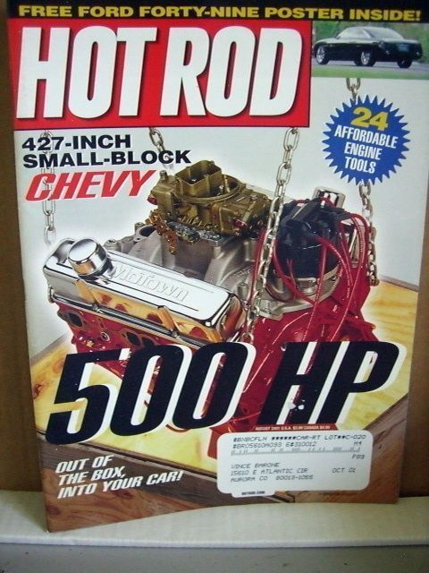 Hot Rod Magazine August 2001 427-inch Small Block Chevy