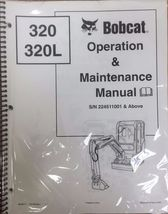 Bobcat 320 Excavator Operation & Maintenance Manual Operator/Owner's 4 # 6903817 - $25.00