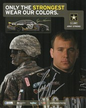 2011 RYAN NEWMAN #39 US ARMY NASCAR POSTCARD SIGNED - $12.75