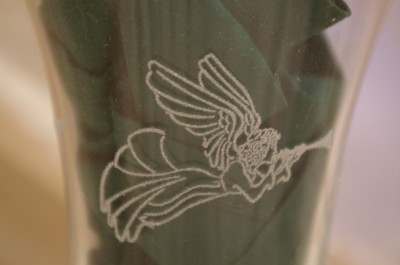 Home Interiors Etched Angel Votive Cups Homco