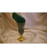 Home Interiors Etched Church Scene Votive Cups Homco - $9.99