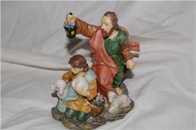 AVON Holiday Treasures Blessed Visitors Shepherds