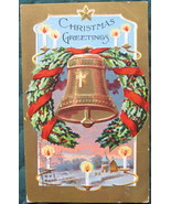 Antique, Bamforth & Co, Christmas Greeting, Bas Relief, post - $11.00