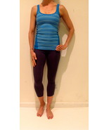 Hard Tail slimmer panel tank xs small pacific blue ocean color - $29.99