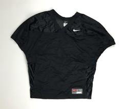 New Nike Velocity 2.0 Football Game Practice Jersey Black Men's L 659179 - $15.43