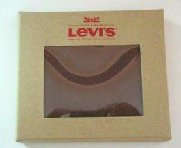 Levi's Mens Genuine Leather Slim Bifold Wallet Brown RFID NWT Ships Free  image 5