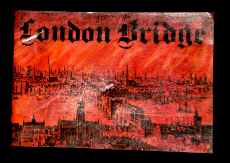 Original London Bridge 1971 Commemorative Booklet.