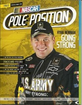 2011 NASCAR POLE POSITION RACING MAGAZINE RYAN NEWMAN ON THE COVER SIGNED - $60.00
