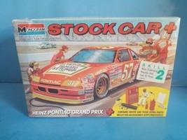 Monogram NASCAR #57 Heinz Pontiac Grand Prix 1/24 scale Stock Car Plus M... - $18.69