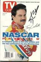 FEBRUARY 1997 NASCAR EDITION OF TV GUIDE MAGAZINE TERRY LABONTE COVER SI... - $45.00