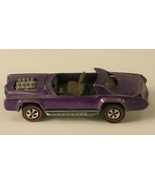 Hot Wheels 1969 Purple Sugar Caddy  Red Line Wheels - For Parts or Repair - $20.00