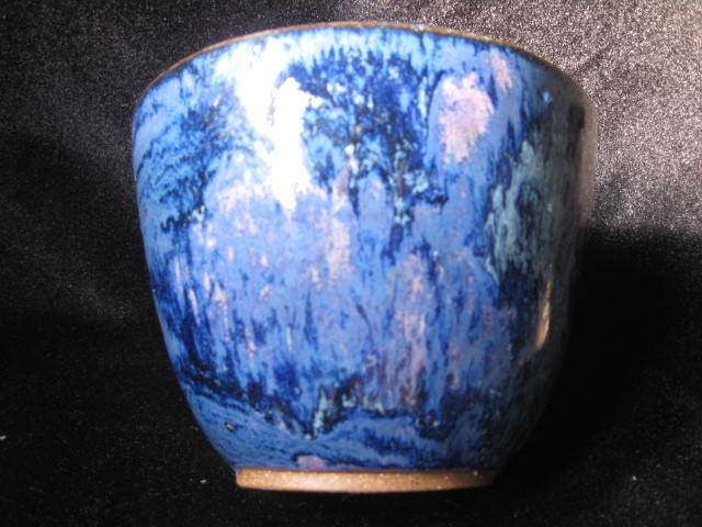 On The Cusp Studio Pottery Bowl - Purple/Blue!