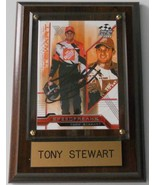 2004 TONY STEWART TRADING CARD AUTOGRAPHED - MOUNTED & READY FOR DISPLAY - $50.00