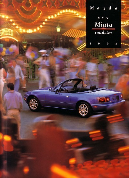 Primary image for 1995 Mazda MX-5 MIATA sales brochure catalog US 95