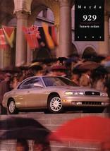 1995 Mazda 929 sedan sales brochure catalog US 95 V6 - $10.00