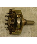 Tosoku 6mm Diameter Rotary Switch, 3 Position - $45.00