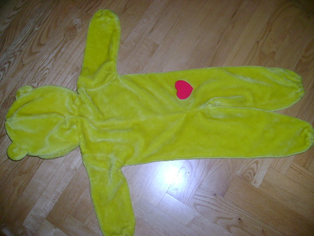 Carebear Sunshine Halloween Costume~TODDLER~SIZE 3-4