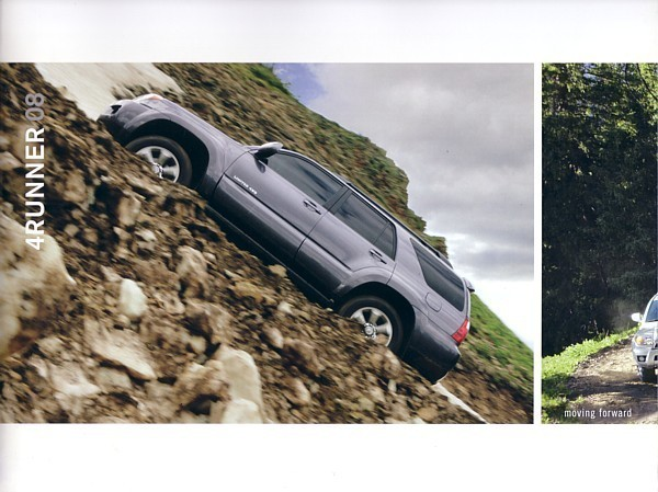 Primary image for 2008 Toyota 4RUNNER sales brochure catalog 08 US 4 Runner