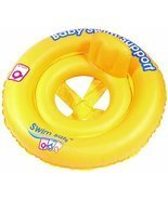 Swim Safe Double-Ring Baby Seat Inflatable Pool Float - $15.73 CAD