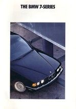1991 BMW 7-SERIES sales brochure catalog US 91 735i 735iL - $8.00