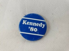 Vintage Ted Kennedy '80 Presidential Election Campaign Political Pin Button - $2.89