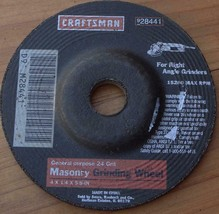 36 Grit Hot Max 26006 8-Inch by 1-Inch by 1-Inch Arbor Bench Grinding Wheel