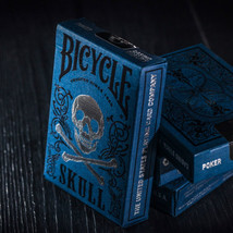 Original Ghost Bicycle Cards Luxury Skull Playing Cards Magic Tricks  - $18.99