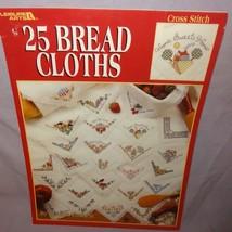 25 Bread Cloths Cross Stitch Leaflet 2792 Patterns 1995 County Teddy Bear Flower - $9.99