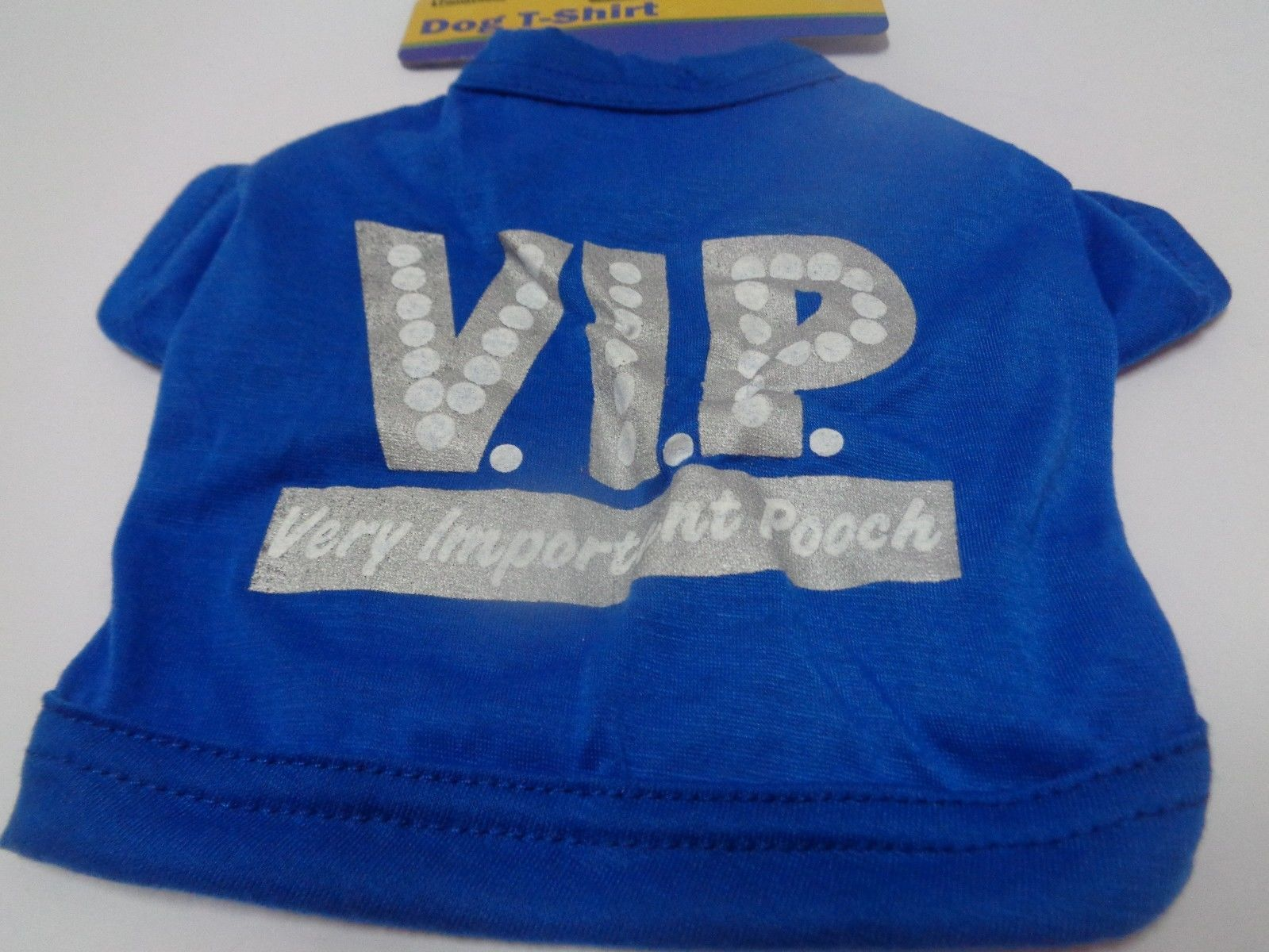 Blue Doggy VIP Shirt NWT Extra Small Dog Free Shipping