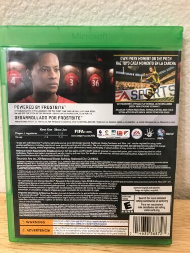 Xbox One Fifa 17 Microsoft Soccer EA Sports Video Game Futbol Football Rated E