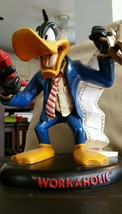 Extremely Rare! Looney Tunes Daffy Duck Workaholic Figurine Statue from ... - $346.50