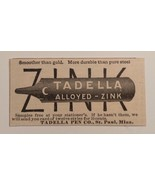 1891 Tadella Pen Co.  Advertisement St. Paul Minn. - $24.00